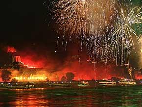 Rhein in Flammen Oberwesel